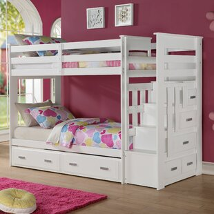 Affordable Price Jere Twin over Twin Bed with Trundle by Harriet Bee Reviews (2019) & Buyer's Guide