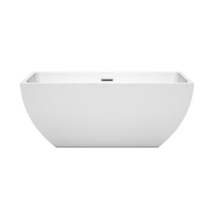 Affordable Price Rachel 59 x 29.5 Soaking Bathtub ByWyndham Collection