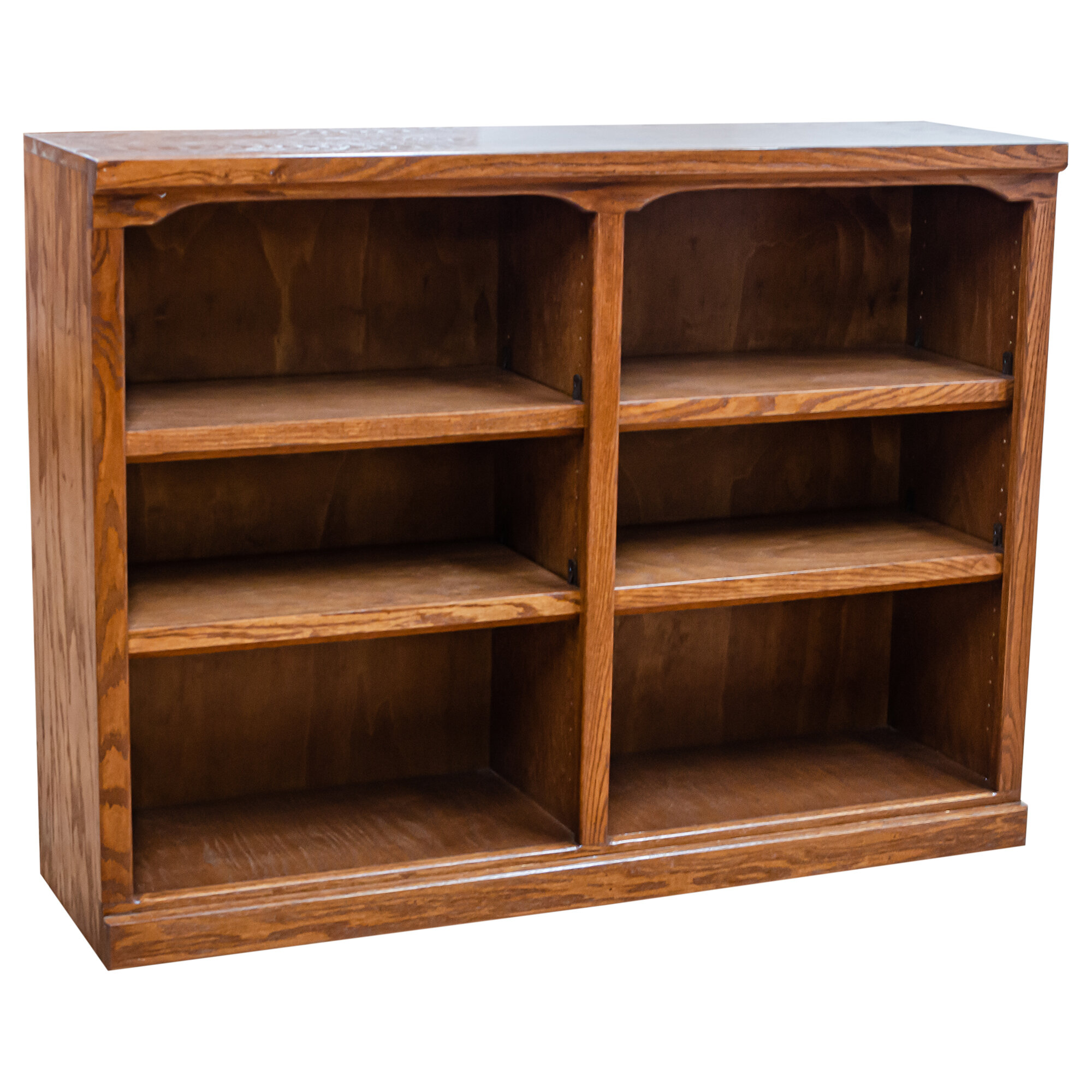 Loon Peak® Miya 36'' H x 48'' W Standard Bookcase | Wayfair