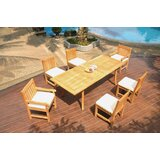 Northpoint 7 Piece Teak Dining Set