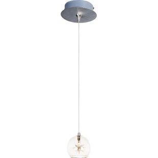 Kugler 1-Light Globe Pendant by Brayden Studio