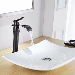 Waterfall Spout Bathroom Sink Faucets Youll Love Wayfair