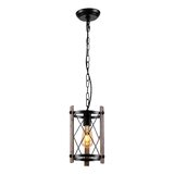 Square Rectangle Wood Pendant Lighting You Ll Love In 2021 Wayfair