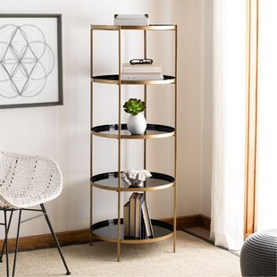 Spofford Round 5 Tier Etagere Bookcase