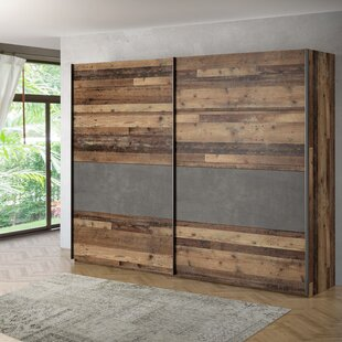 Simsbury 2 Door Sliding Wardrobe By Williston Forge