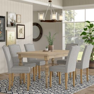 Edeline Country Styled 7 Piece Dining Set..