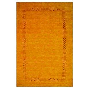 Columbiana Handwoven Orange Rug by Longweave
