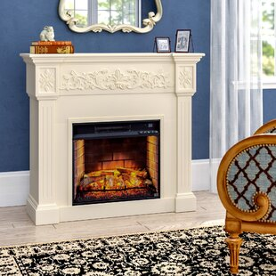 Contreras Electric Fireplace by Alcott Hill