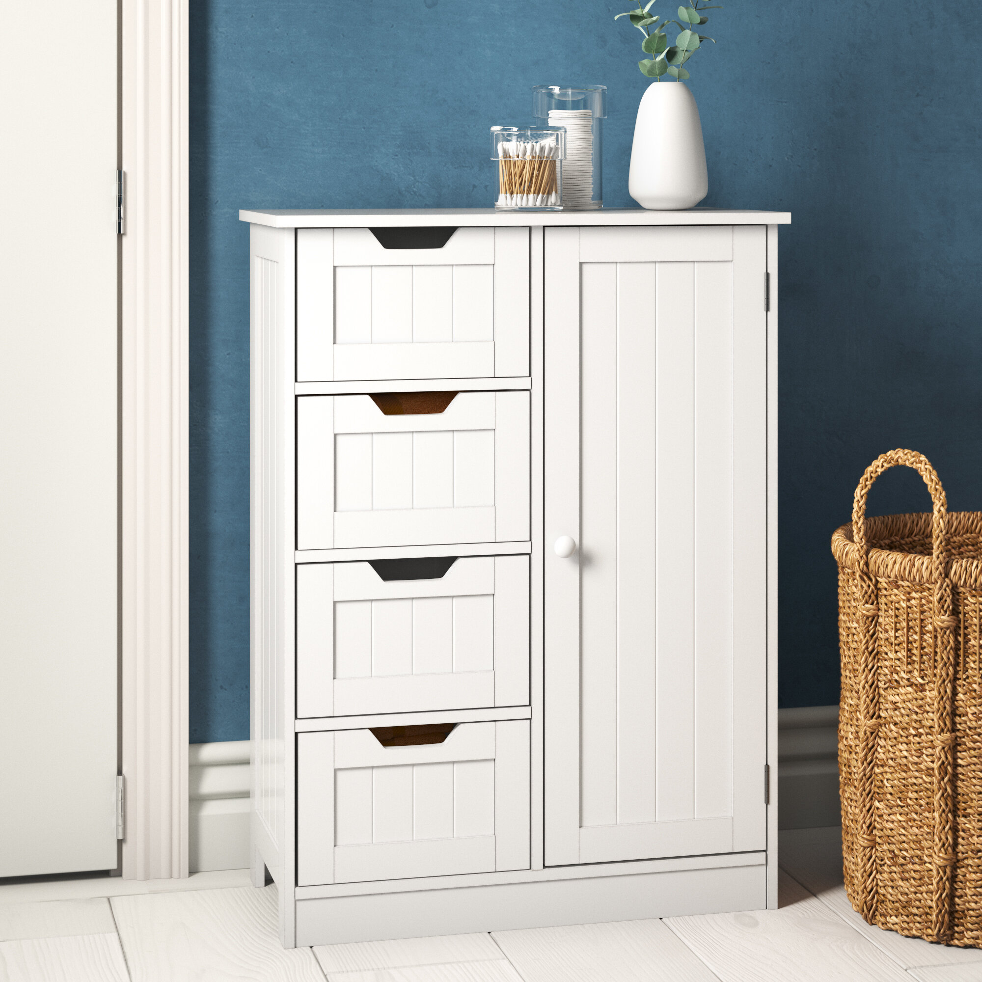 Aniya 3cm x 3cm Free-Standing Cabinet