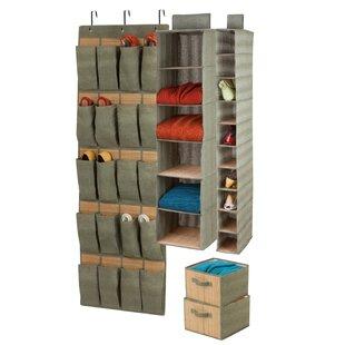 Compare 20 Pocket Hanging Organizer ByHoney Can Do
