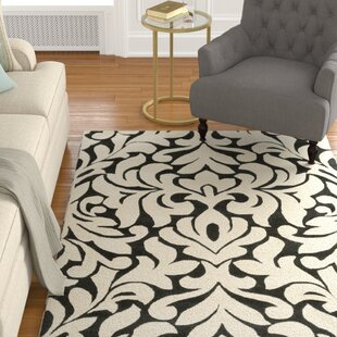 Bargain Strauss-MatathiaHand-Tufted Violet/Ivory Area Rug By Astoria Grand
