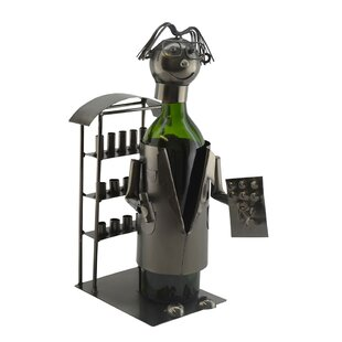 Pharmacist 1 Bottle Tabletop Wine Rack by..