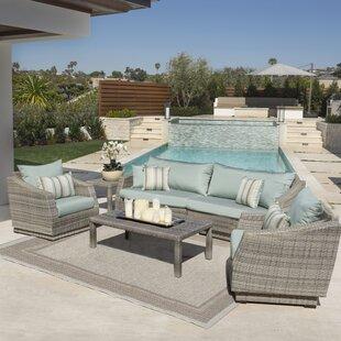 Castelli 6 Piece Sofa Set with Cushions