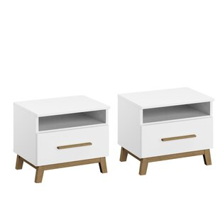 Carlsson Bedside Table (Set Of 2) By Rauch