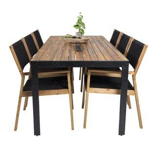 Reidar 6 Seater Dining Set By Sol 72 Outdoor