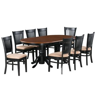 Inwood 9 Piece Extendable Dining Set by DarHome Co No Copoun