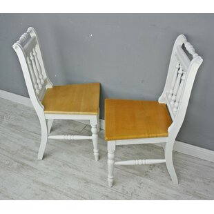 Primevere Solid Wood Dining Chair (Set Of 2) By August Grove
