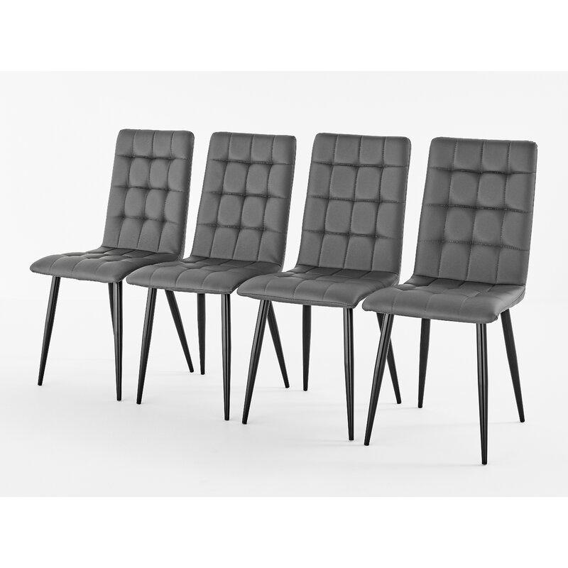 Brayden Studio Bartos Upholstered Dining Chair Reviews Wayfair Co Uk