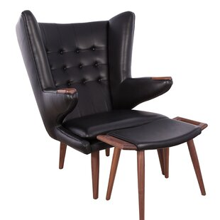 Corrigan Studio Cristopher Lounge Chair and Ottoman