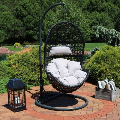 Abrams Hanging Egg Chair Hammock With Stand by Brayden Studio Best Choices