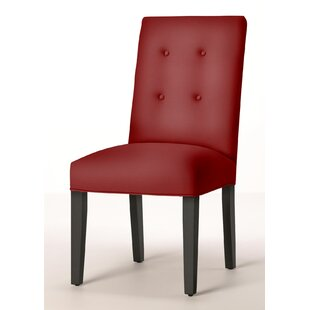 Button Back Upholstered Dining Chair by Sloane Whitney