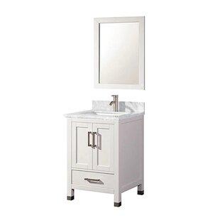 Guide to buy Cutrer 24 Single Bathroom Vanity Set ByEbern Designs