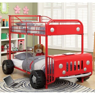 Find a Jaymes Twin Bunk Bed by Hokku Designs Reviews (2019) & Buyer's Guide