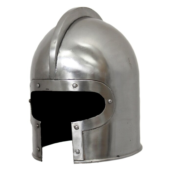 Antique Replica 15th Century Italian Barbuta Amor Helmet