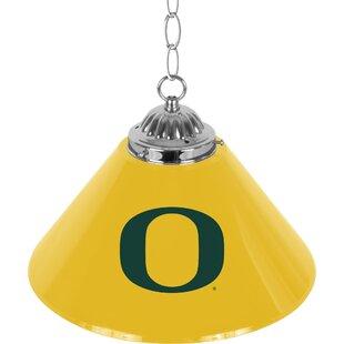 Trademark Global University of Oregon 1-Light Pool Table Lights Pendant