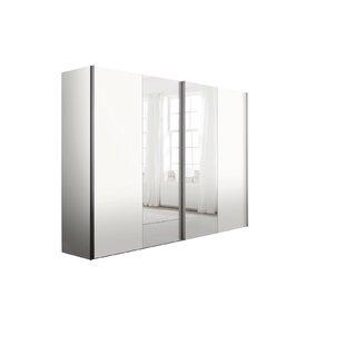 Barnaby 3 Door Sliding  Wardrobe By Ebern Designs