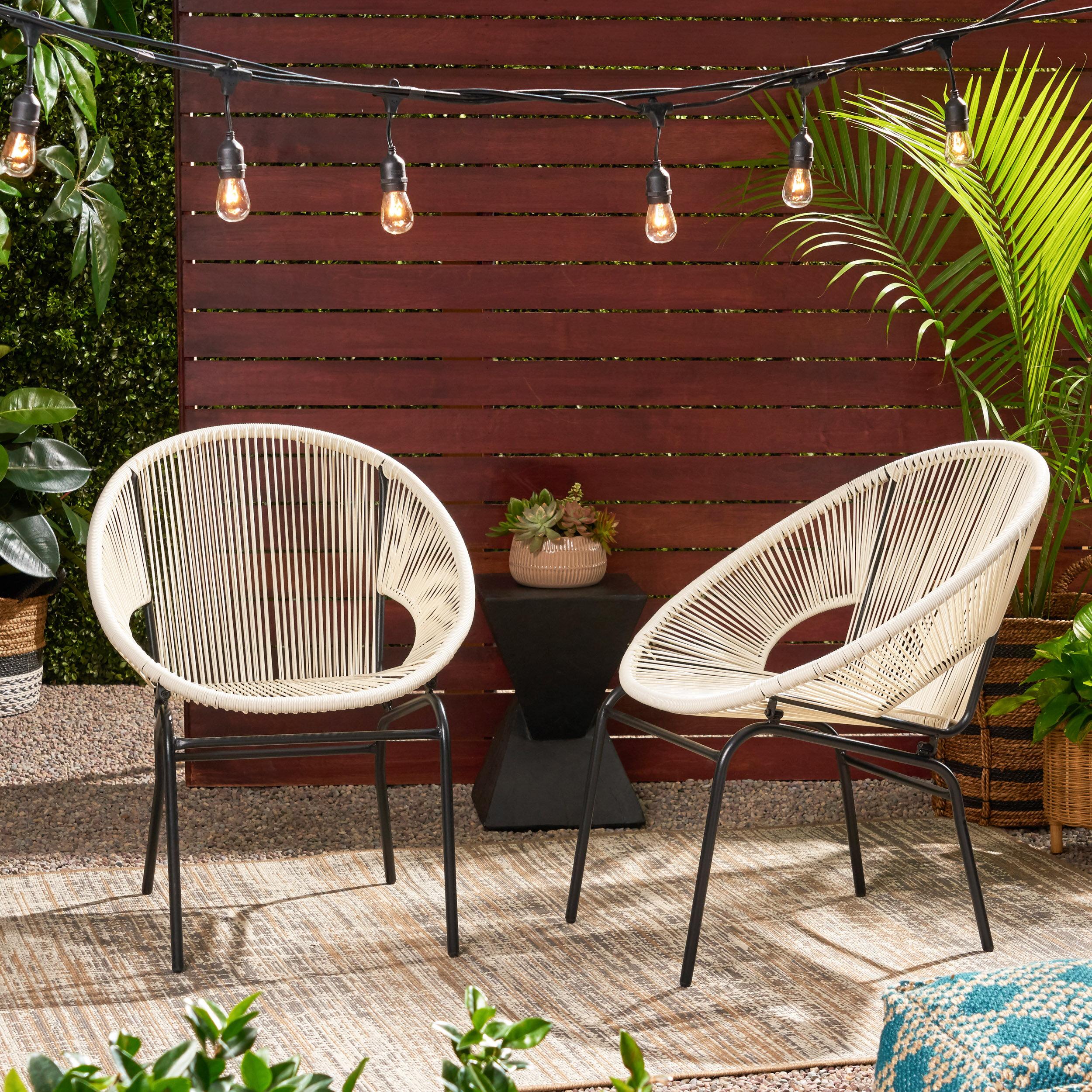 Indira Outdoor Modern Patio Chair