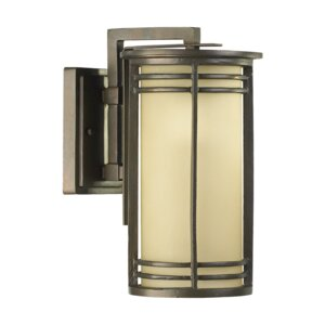 Larson 1-Light Outdoor Wall Lantern