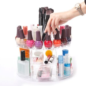 Modern Home Deluxe Rotating Cosmetic Organizer