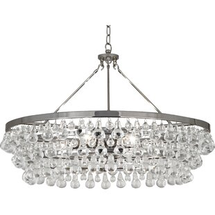 Polished nickel chandeliers youll love save aloadofball Choice Image