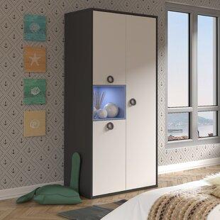 Dayna 3 Door Wardrobe By Ebern Designs
