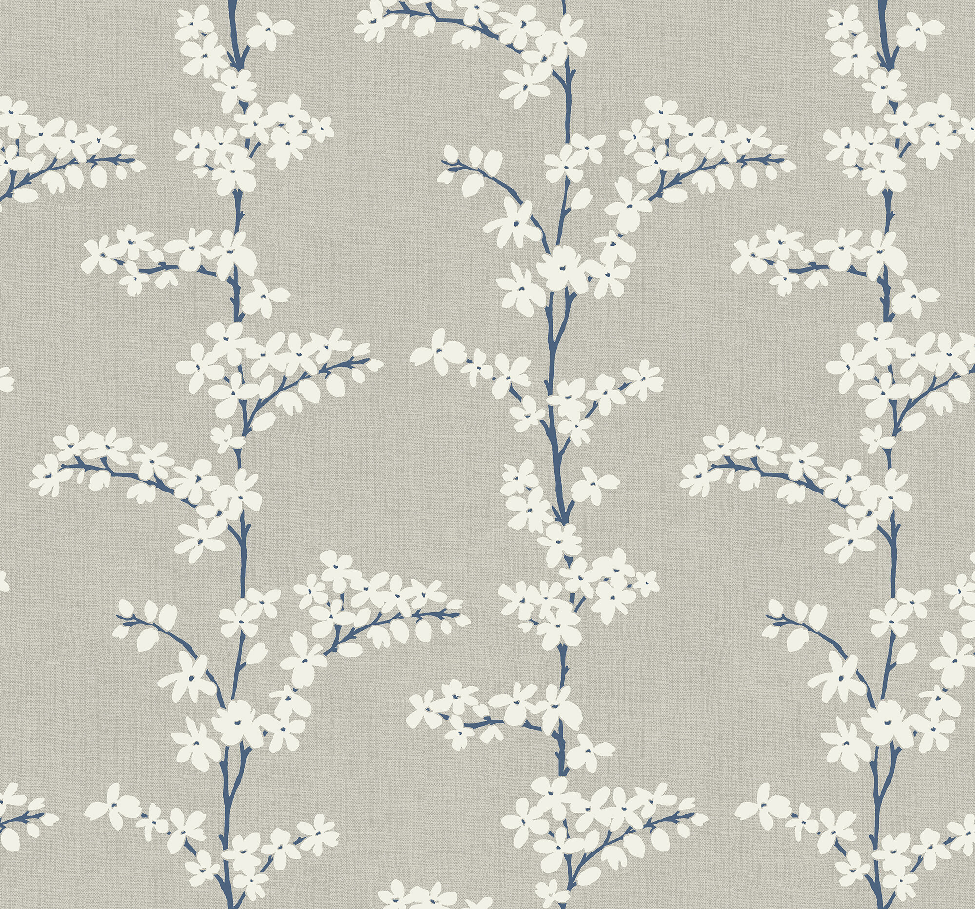 House Of Hampton Alaysia Floral Branches 27 L X 27 W Metallic