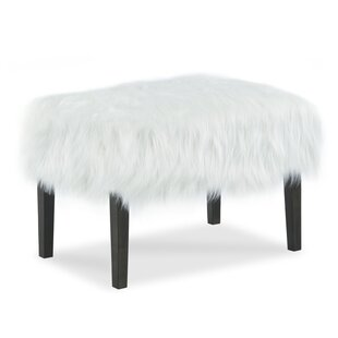 Outstanding Furry Ottoman Dailytribune Chair Design For Home Dailytribuneorg