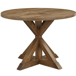 Skyline Pedestal Dining Table Ophelia & Co.