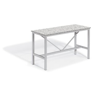 Hillard Aluminum Bar Table