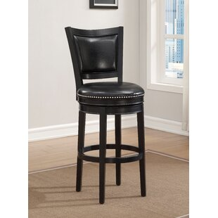 Benson Swivel Bar Stool by Darby Home Co