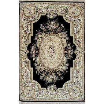 Ophelia Co Nantwich Aubusson Oriental Hand Tufted Wool Area Rug Wayfair
