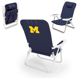 NCAA Monaco Reclining Beach Chair