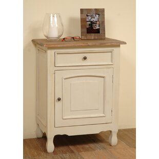 Vonda 1 Drawer Accent Cabinet by August Grove