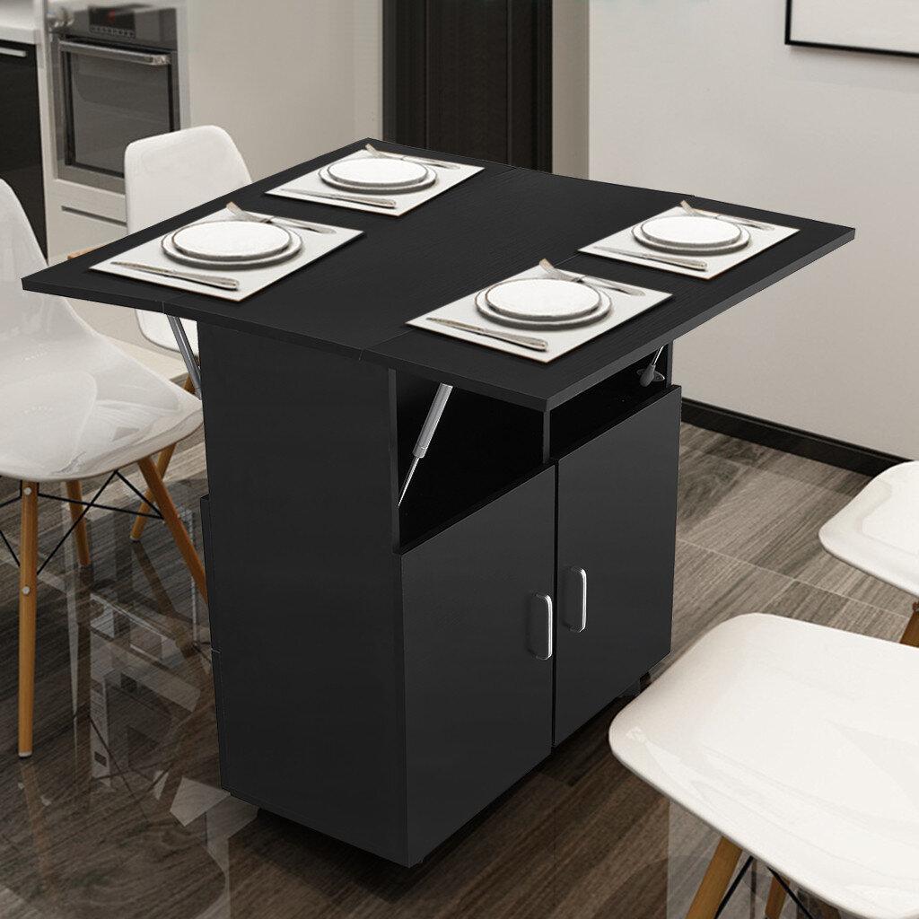 Ebern Designs Kitchen Island Foldable Design Wayfair