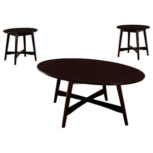 George Oliver Jeffrey 3 Piece Coffee Table Set