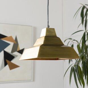 World Menagerie Richards Modern 1-Light Dome Pendant
