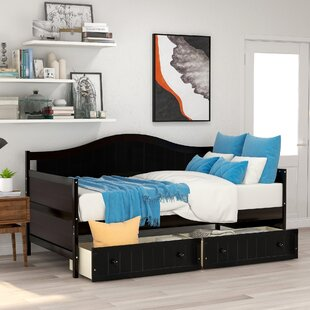 Twin Bed with 2 Drawers by Keeplus