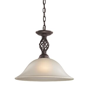 Alcott Hill Battersby 1-Light Cone Pendant