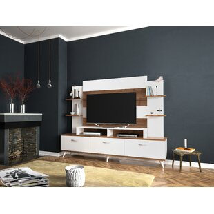 Tv Media Cabinet With Hutch Wayfair