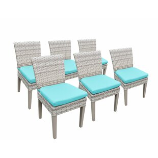 Falmouth Patio Dining Chair with Cushion (Set of 6)